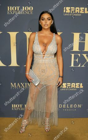 Stock Picture of Abigail Ratchford arrives at the 2018 Maxim Hot 100 Experience at the Hollywood Palladium, in Los Angeles