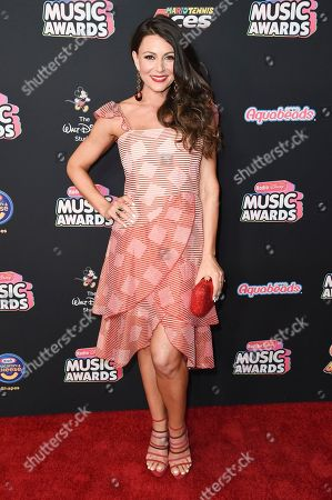 Stock Image of Cerina Vincent attends the 2018 Radio Disney Music Awards at Loews Hotel, in Los Angeles