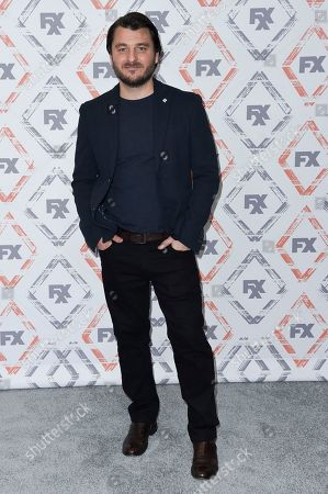 Justin Rosniak attends the FX Starwalk at the the Beverly Hilton Hotel, in Beverly Hills, Calif