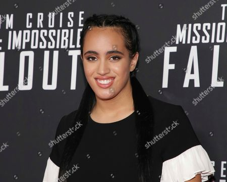 "Simone Johnson attends the U.S. premiere of ""Mission: Impossible - Fallout"" at The Smithsonian National Air and Space Museum on in Washington"