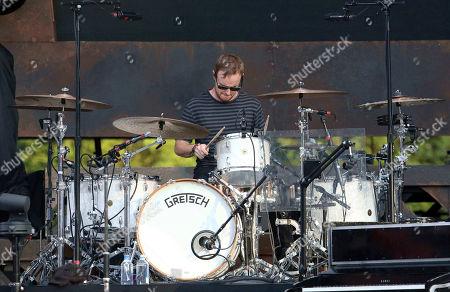 Eddie Fisher with OneRepublic performs at SunTrust Park, in Atlanta
