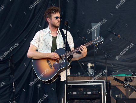 Stock Picture of Zach Filkins with OneRepublic performs at SunTrust Park, in Atlanta