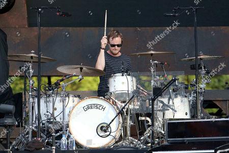 Stock Image of Eddie Fisher with OneRepublic performs at SunTrust Park, in Atlanta