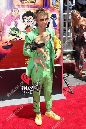 """Stock Picture of Greg Cipes arrives at the LA Premiere of """"Teen Titans Go! To the Movies"""" at the TCL Chinese Theatre, in Los Angeles"""