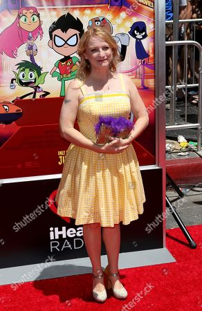 "Editorial image of LA Premiere of ""Teen Titans Go! To the Movies"", Los Angeles, USA - 22 Jul 2018"
