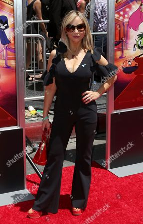 """Tara Strong arrives at the LA Premiere of """"Teen Titans Go! To the Movies"""" at the TCL Chinese Theatre, in Los Angeles"""