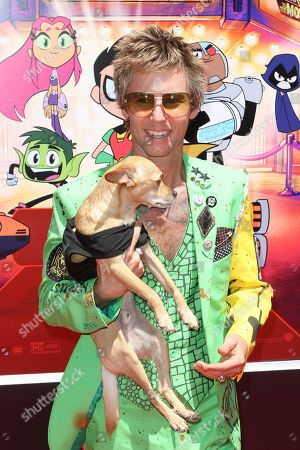 """Greg Cipes arrives at the LA Premiere of """"Teen Titans Go! To the Movies"""" at the TCL Chinese Theatre, in Los Angeles"""