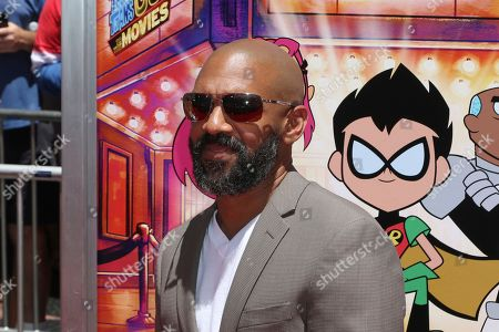"""Khary Payton arrives at the LA Premiere of """"Teen Titans Go! To the Movies"""" at the TCL Chinese Theatre, in Los Angeles"""