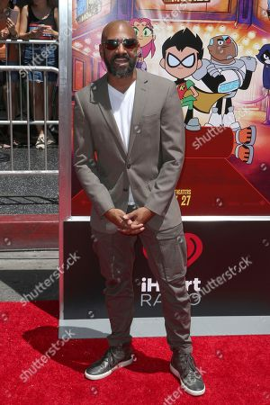 "Khary Payton arrives at the LA Premiere of ""Teen Titans Go! To the Movies"" at the TCL Chinese Theatre, in Los Angeles"