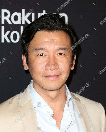 "Chin Han arrives at the LA Premiere of ""The Wife"" at the Pacific Design Centre, in West Hollywood, Calif"