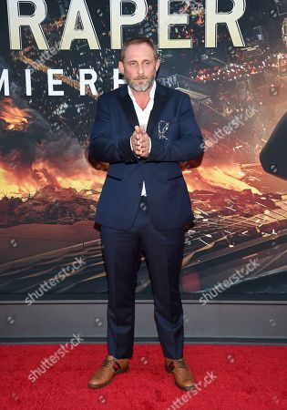 "Roland Moller attends the ""Skyscraper"" premiere at AMC Loews Lincoln Square, in New York"