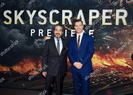 """Editorial image of NY Premiere of """"Skyscraper"""", New York, USA - 10 Jul 2018"""
