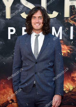 """Andrew Jenks attends the """"Skyscraper"""" premiere at AMC Loews Lincoln Square, in New York"""