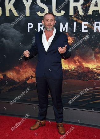 "Roland Moller attends the ""Skyscraper"" premiere at AMC Loews Lincoln Square, in New York"