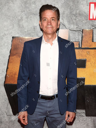 """Frank Whaley attends the premiere of the Netflix original series Marvel's """"Luke Cage"""" season two at The Edison Ballroom, in New York"""