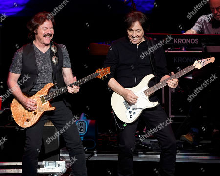 Editorial photo of The Doobie Brothers in Concert - , Mass., Mansfield, USA - 7 Jul 2018