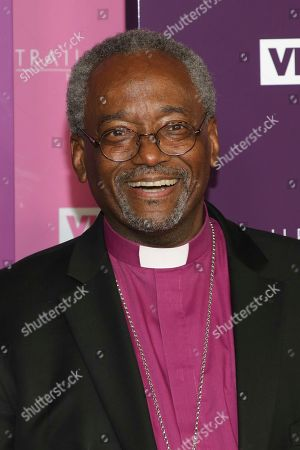 Bishop Michael Curry attends VH1's Trailblazer Honors at the Cathedral of St. John the Divine, in New York