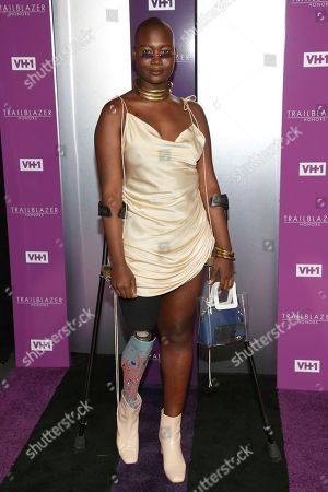 Mama Cax attends VH1's Trailblazer Honors at the Cathedral of St. John the Divine, in New York