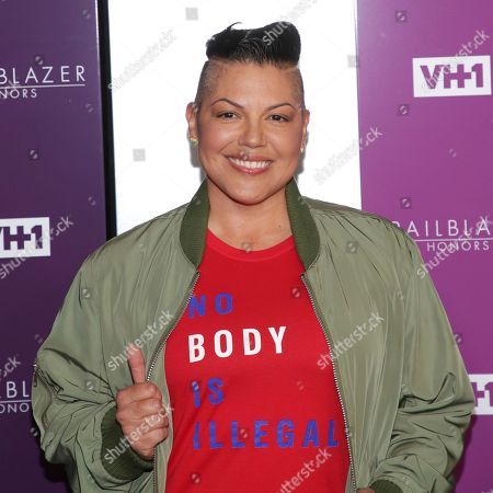 Sara Ramirez attends VH1's Trailblazer Honors at the Cathedral of St. John the Divine, in New York