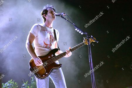 Stock Picture of Marc Walloch of AWOLNATION perform during the WKQX Piqniq Music Festival at the Hollywood Casino Amphitheatre, in Tinley Park, IL