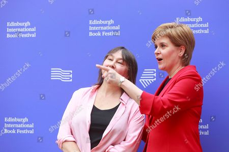 Ali Smith writer and Nicola Sturgeon first Minister of Scotland