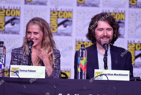 """Editorial image of 2018 Comic-Con - """"A Discovery of Witches"""" Panel, San Diego, USA - 19 Jul 2018"""