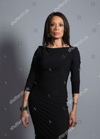 "Valarie Pettiford poses for a portrait to promote the television series ""A Discovery of Witches"" on day one of Comic-Con International, in San Diego"