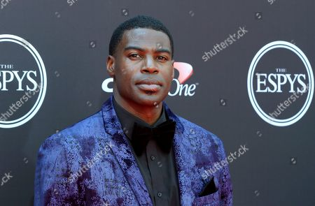 Stock Image of Sheldon Bailey arrives at the ESPY Awards at the Microsoft Theater, in Los Angeles