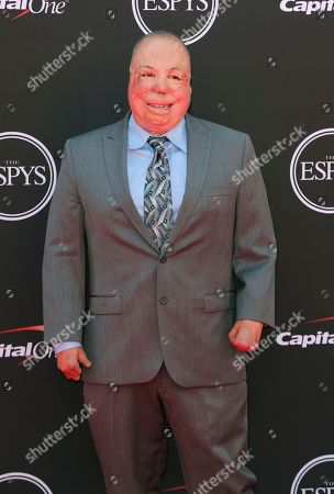 Israel Del Toro arrives at the ESPY Awards at the Microsoft Theater, in Los Angeles