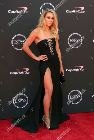 Lolo Jones arrives at the ESPY Awards at the Microsoft Theater, in Los Angeles