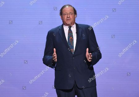 Chris Berman appears at the ESPY Awards at the Microsoft Theater, in Los Angeles