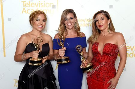 Editorial image of 70th Los Angeles Area Emmy Awards - Portraits, North Hollywood, USA - 28 Jul 2018