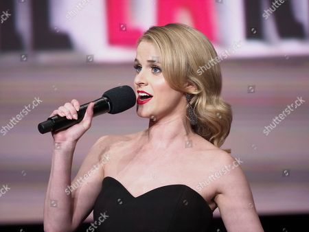 Stock Photo of Carlie Craig performs at the 70th Los Angeles Area Emmy Awards, at the Saban Media Center at Television Academy's North Hollywood, Calif. headquarters on