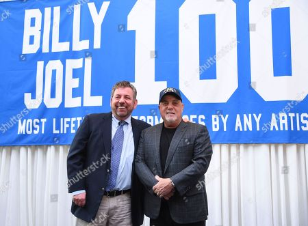 Editorial picture of Billy Joel 100th MSG Concert Press Conference, New York, USA - 18 Jul 2018