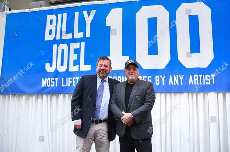Editorial photo of Billy Joel 100th MSG Concert Press Conference, New York, USA - 18 Jul 2018