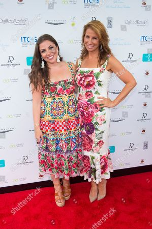 Stock Photo of Ally Shapiro, left, and Jill Zarin attend Jill Zarin's 6th Annual Luxury Luncheon at Topping Rose House on in Bridgehampton, NY