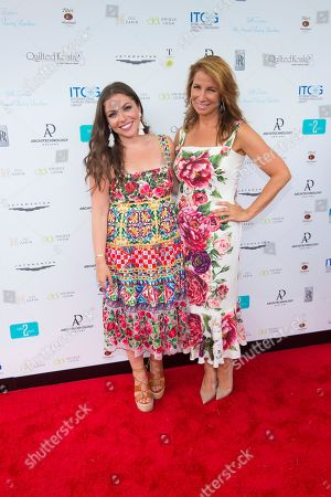 Ally Shapiro, left, and Jill Zarin attend Jill Zarin's 6th Annual Luxury Luncheon at Topping Rose House on in Bridgehampton, NY