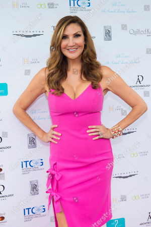 Heather McDonald attends Jill Zarin's 6th Annual Luxury Luncheon at Topping Rose House on in Bridgehampton, NY