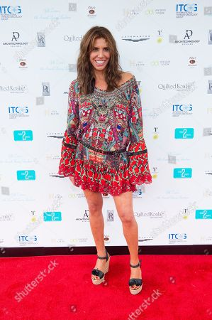 Cindy Barshop attends Jill Zarin's 6th Annual Luxury Luncheon at Topping Rose House on in Bridgehampton, NY