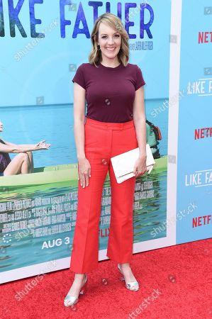 "Jen Zaborowski attends the LA premiere of LA Premiere of ""Like Father"" at ArcLight Hollywood, in Los Angeles, Calif"