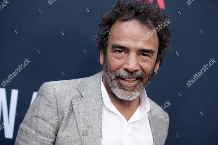"Damian Alcazar attends the LA Premiere of ""Narcos"" Season Two held at ArcLight Cinemas Hollywood, in Los Angeles. On, the Academy of Motion Picture Arts and Sciences announced new filmmakers who are invited to its ranks for the 2018 class, including Alcazar"