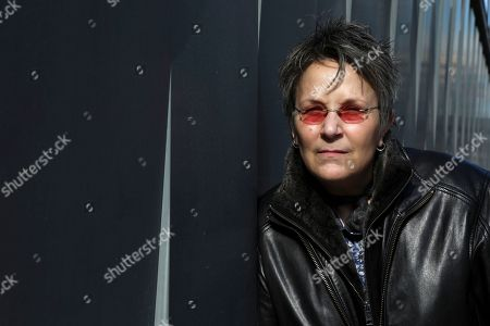"""Musician Mary Gauthier poses for a portrait in New York to promote her veteran inspired record """"Rifles & Rosary Beads"""
