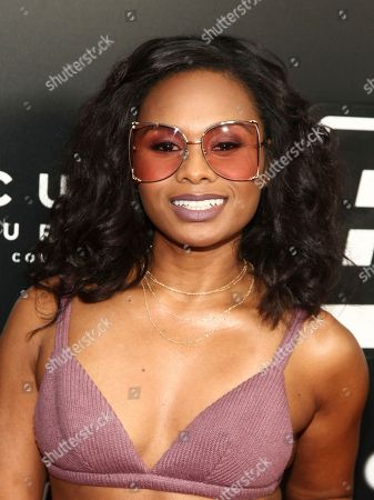 "Chyna Layne attends the premiere of ""BlacKkKlansman"" at the Brooklyn Academy of Music, in New York"