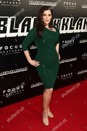 """Kim Director attends the premiere of """"BlacKkKlansman"""" at the Brooklyn Academy of Music, in New York"""