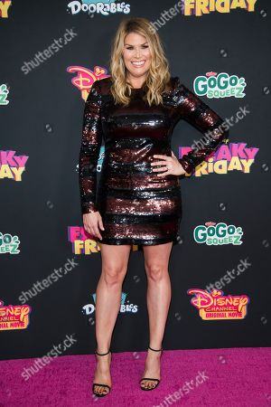 """Heidi Blickenstaff attends the premiere of Disney Channel's """"Freaky Friday"""" at the Beacon Theatre, in New York"""