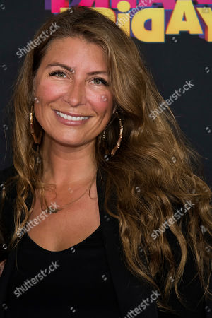 "Genevieve Gorder attends the premiere of Disney Channel's ""Freaky Friday"" at the Beacon Theatre, in New York"