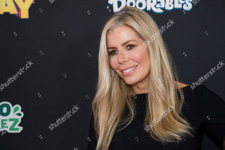 "Aviva Drescher attends the premiere of Disney Channel's ""Freaky Friday"" at the Beacon Theatre, in New York"