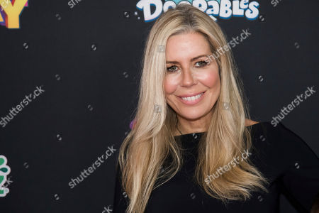 "Stock Image of Aviva Drescher attends the premiere of Disney Channel's ""Freaky Friday"" at the Beacon Theatre, in New York"