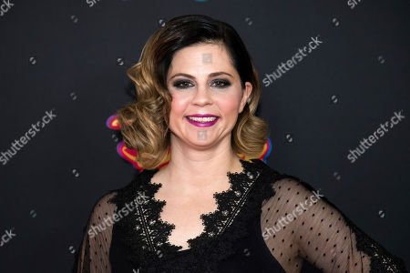 """Stock Picture of Mandy Teefey attends the premiere of Disney Channel's """"Freaky Friday"""" at the Beacon Theatre, in New York"""
