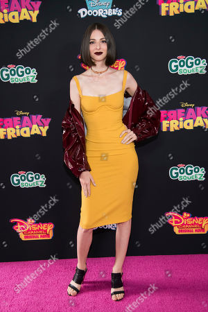 "Editorial image of NY Premiere of Disney Channel's ""Freaky Friday"", New York, USA - 30 Jul 2018"